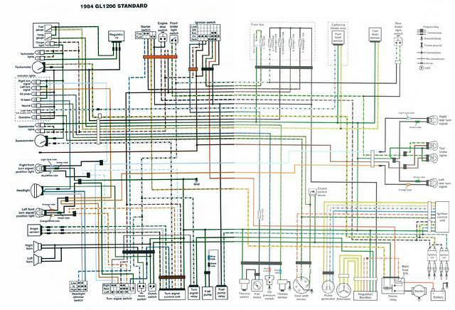 Dorable Gl1200 Wiring Diagram Crest Electrical Circuit Rhsuaiphoneorg: 1986 Honda Gl1200 Goldwing Wiring Diagram Schematic At Oscargp.net