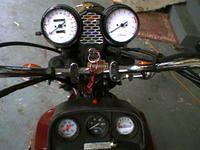78 Honda Goldwing GL1000 Custom Guages.JPG